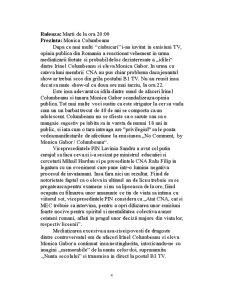 Ipoteze privind Impactul Emisiunilor Problematice - Pagina 4
