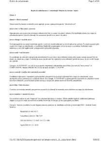 Retelele de Calculatoare - Pagina 1