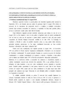 Drept Constituțional - Pagina 1