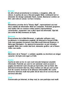 50 de Termeni Esentiali de Internet - Pagina 2