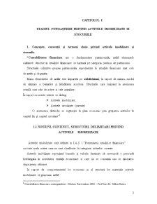 Contabilitatea si Gestiunea Imobilizarilor si a Stocurilor - Recunoastere, Evaluare si Tratamente Contabile - Pagina 3