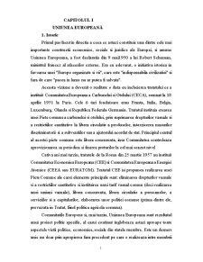 Drept Social European - Pagina 1