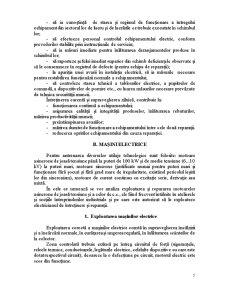 Exploatarea, Intretinerea si Repararea Echipamentelor Electrice din Instalatii - Pagina 5