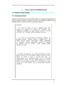 Natura si Obiectul Contabilitatii Financiare - Aplicatii - Pagina 1