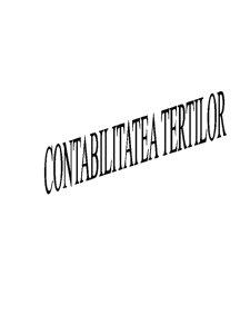 Contabilitatea Tertilor - Pagina 1