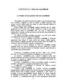 Obiectul și Metoda Contabilității - Pagina 3