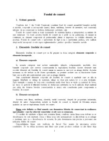 Fondul de Comert - Pagina 1