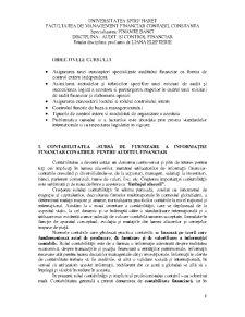 Audit și Control Financiar - Pagina 1