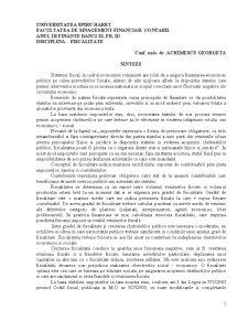 Fiscalitate - Pagina 1