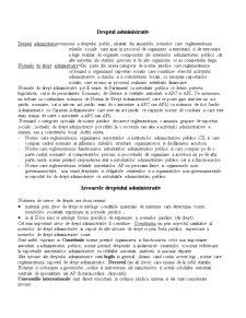 Drept Administrativ - Introducere în Drept Administrativ - Pagina 1