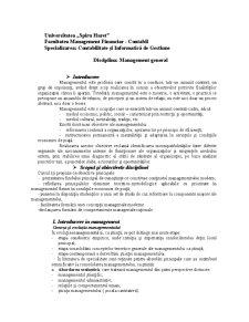 Management General - Pagina 1