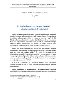Raportul Juridic de Drept Administrativ și Raportul Juridic de Drept Civil - Pagina 2