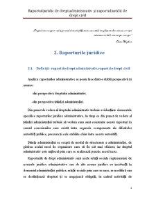 Raportul Juridic de Drept Administrativ și Raportul Juridic de Drept Civil - Pagina 4