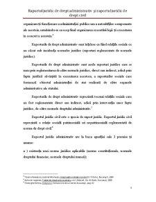 Raportul Juridic de Drept Administrativ și Raportul Juridic de Drept Civil - Pagina 5