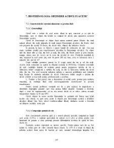 Biotehnologia Obținerii Acidului Acetic - Pagina 1