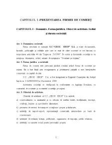 Proiect Economic - SC Geox Shop SA - Pagina 2
