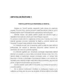 Ecofiziologie Vegetala - Capitolul 1 - Pagina 1