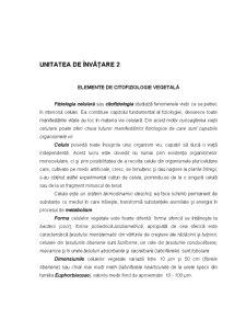 Ecofiziologie Vegetala - Capitolul 2 - Pagina 1