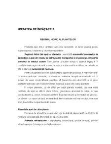 Ecofiziologie Vegetala - Capitolul 3 - Pagina 1