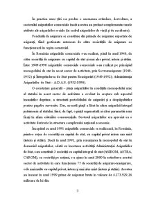 Asigurările Comerciale în România - Pagina 3