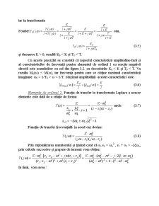 Răspunsul la Frecvență al Sistemelor - Pagina 3