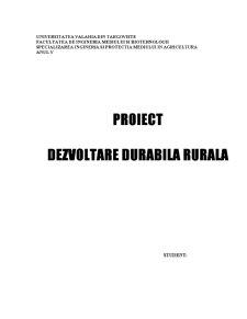 Amenajarea Agroturistica - Zarnesti - Pagina 1