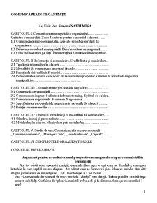 Comunicare Organizationala Curs - Pagina 1