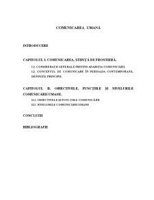 Comunicarea Umană - Pagina 2