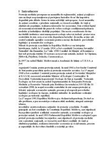 Cercetarea Resurselor Naturale din Moldova - Pagina 1