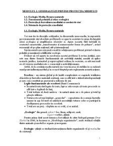 Dreptul Mediului dupa Legislatia Republicii Moldova - Pagina 1