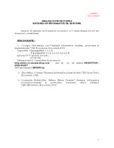 Analiza și Programarea Sistemelor Informatice de Gestiune - Pagina 2