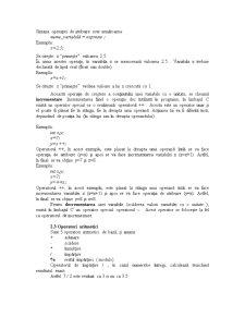 Operatori Aritmetici C++ - Pagina 3