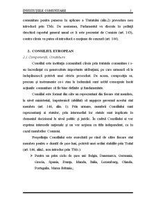 Instituțiile Comunitare - Pagina 3