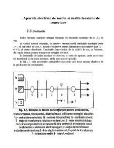 Aprate Electrice de Medie si Inalta Tensiune - Pagina 1