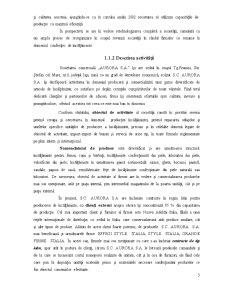 Proiectarea unui Flux Informational privind Contabilitatea Stocurilor de Produse si Marfuri - Aurora SA - Pagina 4