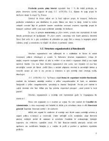 Proiectarea unui Flux Informational privind Contabilitatea Stocurilor de Produse si Marfuri - Aurora SA - Pagina 5