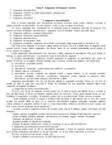 Asigurarea de Transport Terestru - Pagina 1