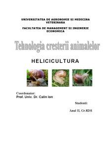 Helicicultura - Ferma de Melci - Pagina 1