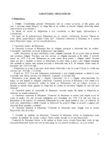 Drept Civil - Garantarea Obligatiilor Curs 2 - Pagina 1