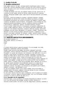 Compilatoare - Pagina 1