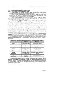 Referat - Sisteme de Fisiere - Clasificari si implementari UNIX-WINDOWS