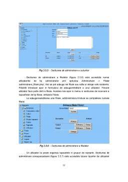 Referat - Aplicatie Web de Raportare pentru Cuburi Olap