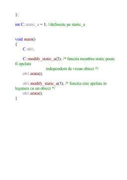 Curs - Curs C++ in Romana