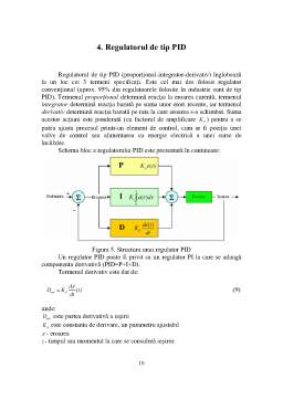 Proiect - Sistem de Reglare a Temperaturii Apei din Boiler
