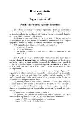 Curs - Drept Administrativ - Curs 7