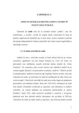 Curs - Audit Public - Capitolul 1