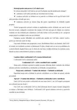 Proiect - Metode de Gestionare a Ratei Dobânzii