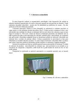Proiect - Drojdia de Panificatie - Gestionarea Deseurilor