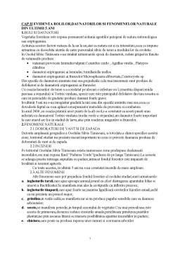 Proiect - Situatia Daunatorilor pe Ultimii 5 Ani la Ocolul Silvic Timisoara