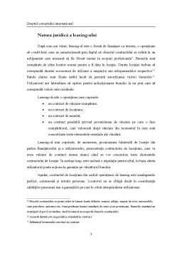 Curs - Contractul de leasing
